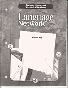 McDougal Littell LANGUAGE NETWORK, NEW Workbook gr.9/9th grammar,writing+