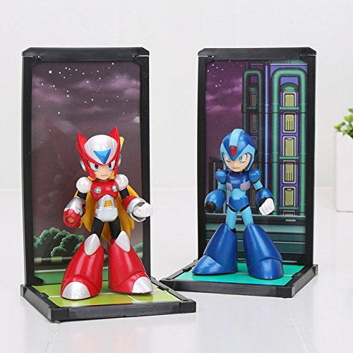 Game, Fun, 10cm 2pcs/set Tamashii Nations Buddies Mega Man Rockman Zero PVC Figures Collectible Model Toys, Toy, Play