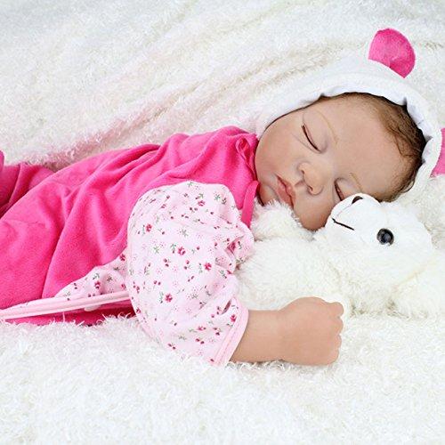 Nicery Reborn Baby Doll Soft Silicone Vinyl 22inch 55cm ...
