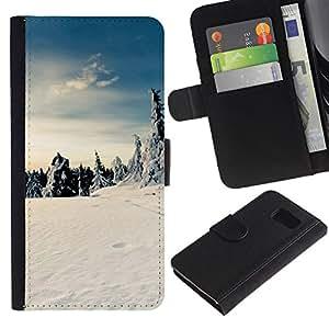 All Phone Most Case / Oferta Especial Cáscara Funda de cuero Monedero Cubierta de proteccion Caso / Wallet Case for Sony Xperia Z3 Compact // Nature Beautiful Forrest Green 175
