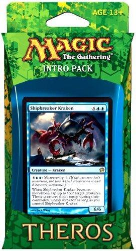 Magic the Gathering Theros Intro Pack - Manipulative Monstrosities Theme Deck (Shipbreaker Kraken) ()
