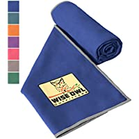 Wise Owl Outfitters Camping Towel - Ultra Soft Compact...