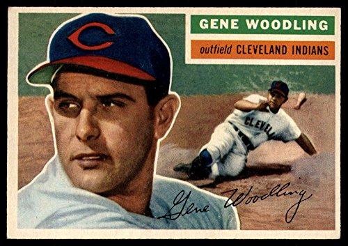 Baseball MLB 1956 Topps #163 Gene Woodling EX Excellent - Baseball 1956 Topps