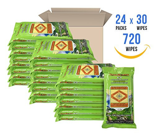 - Trailblazer Super Value Biodegradable Bamboo Outdoor XL Wipes (24 Pack x 30 Wipes = 720 Wipes) Bulk Buy