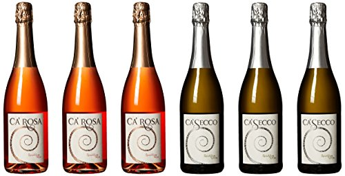 Ca'Momi Napa Valley Sparkling Wine Gift Pack 6 x 750 mL