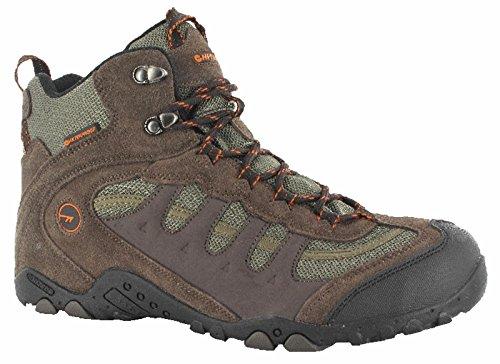 Walking Chocolate Hi Waterproof T782B Penrith Orange Taupe Boots Mens Tec Mid wCB6xqP