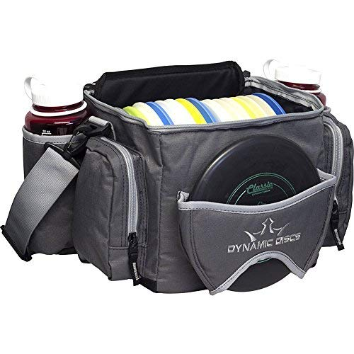 Dynamic Discs Soldier Cooler Disc Golf Bag - Insulated Cooler Compartment - Adjustable Shoulder Strap - 2 Drink Holders & Pockets by Dynamic Discs