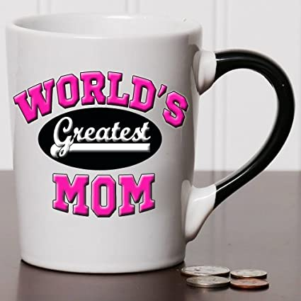 912bce21124 Image Unavailable. Image not available for. Color: Tumbleweed World's  Greatest Mom Mug - Mom Coffee ...