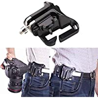 BEESCLOVER Fast Loading Holster Hanger Quick Strap DSLR Camera Waist Belt Buckle Button Mount Clip Camera Video Bags For SO-NY Can-on Nikon
