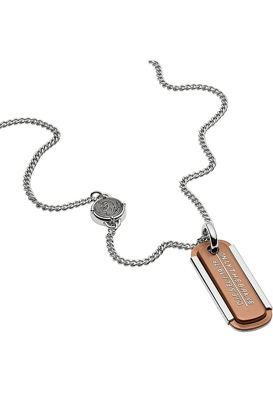 Diesel Collar con colgante Hombre acero inoxidable - DX1095040: Amazon.es:  Joyería