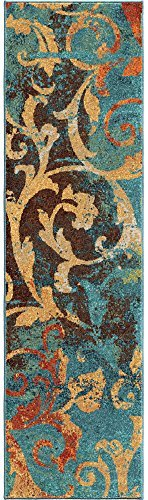Orian Rugs Spoleto Nepal Scroll Runner Rug, 2'3