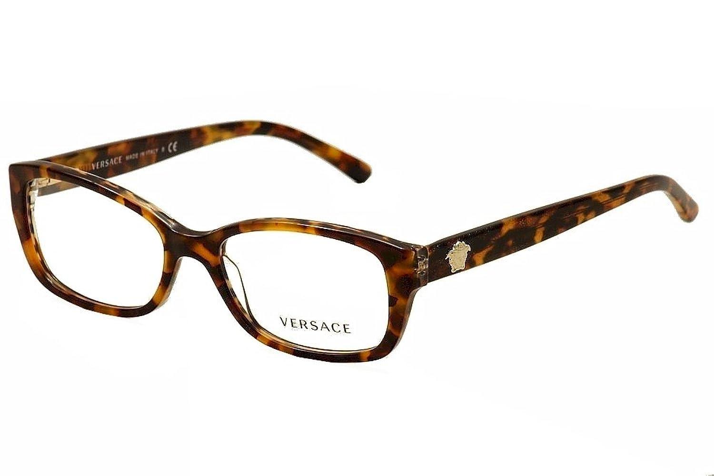 Amazon versace eyeglasses ve 3207 eyeglasses 5116 havana and amazon versace eyeglasses ve 3207 eyeglasses 5116 havana and brown animal print with glitter 52mm clothing biocorpaavc Gallery