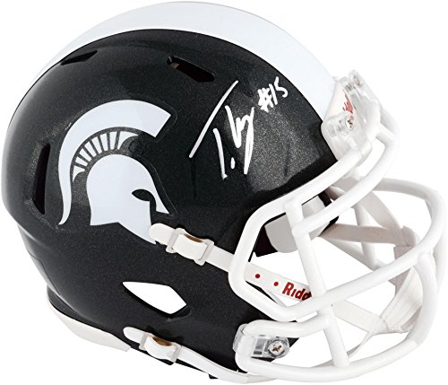 Trae Waynes Michigan State Spartans Autographed Riddell Mini Helmet - Fanatics Authentic Certified - Autographed College Mini Helmets (Autographed Riddell Helmet)