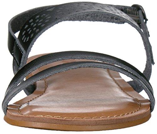 Women's Sandal Flat Roxy Felicia Black wXzxqqgpA