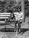 "Photography Poster - [Boy seated with orangutan on bench at the National Zoo, Washington, D.C.], Gloss finish, 24""x18.5"""