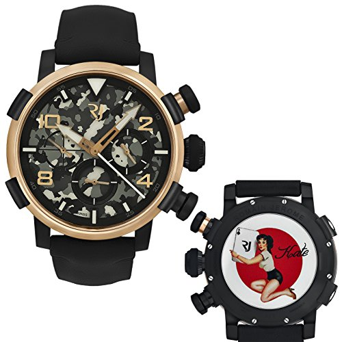 Romain-Jerome-Pinup-DNA-Red-Gold-WWII-Kate-Card-Chrono-Auto-RJPCH00301