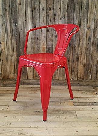 My-Furniture - 2 x Tolix Estilo Vintage francés Cafe ...