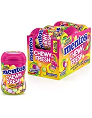 MENTOS 1 Chewy & Fresh - Mixed Fruit - 6 Count, Mixed Fruit, 6 Count