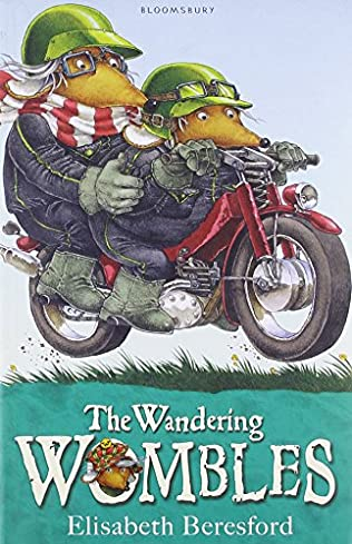 book cover of The Wandering Wombles