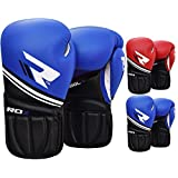 RDX Maya Hide Leather Gel Boxing Gloves Sparring Punching Glove Bag Mitts Training Muay Thai F5