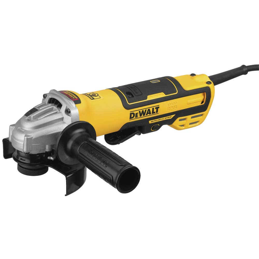 DEWALT Angle Grinder with Paddle Switch, 5-Inch, Tool Only (DWE43214)