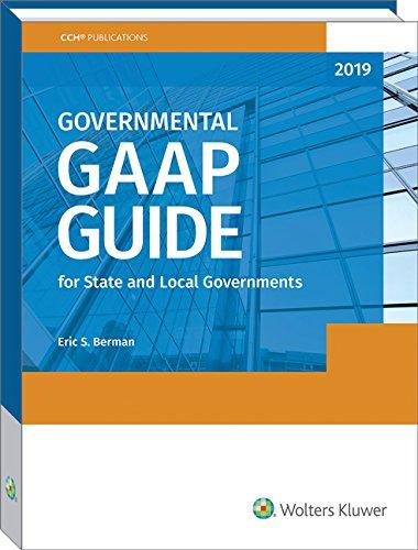 Governmental GAAP Guide, 2019