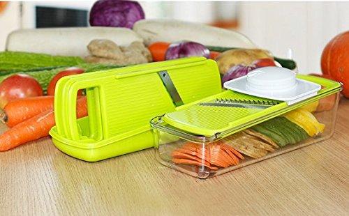 BW® High Quality Multi-function Vegetables Slicer Shredder Manual Fruits Potato Slicer Grater Chopper Cutter