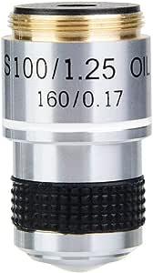 Objetivos del microscopio Vikye 40X 160//0.17 Objetivos acrom/áticos Lentes para el microscopio biol/ógico 185