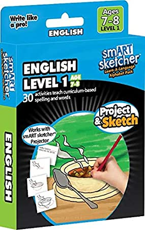 smART sketcher - SD Pack - English Level 1 (Age 7-8)