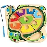 Hape - Colorback Sea Turtle Magnetic Wooden Maze Puzzle