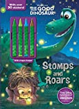 Stomps and Roars (Disney Pixar The Good Dinosaur) (Color & Activity with 4 Chunky Crayons)