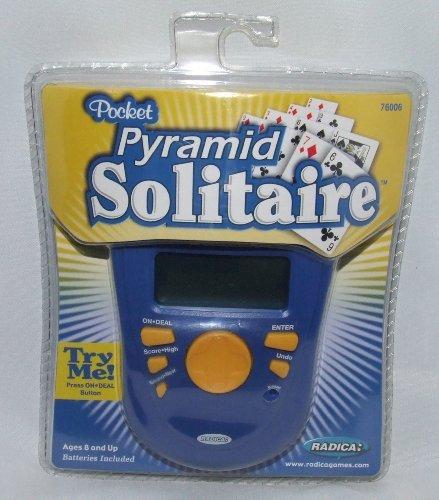 - Radica Pocket Pyramid Solitaire Handheld Game