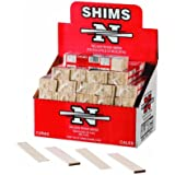 Nelson Wood Shims PSH8/14/52 (one pack of 14 shims)
