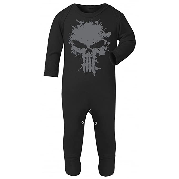 Grow Baby Vest Suit The Punisher