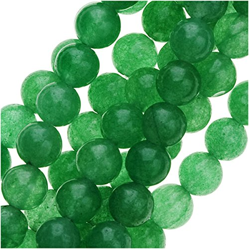 Green Aventurine 4mm Round Beads / 15-16 In. (Aventurine Beads 16 Inch Strand)
