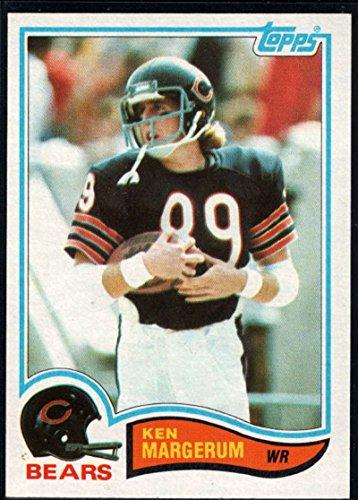 - Football NFL 1982 Topps #299 Ken Margerum Bears
