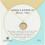 Dogeared Angels Among Us Guardian Angel 2-Tone Saint Chain Necklace, Gold, 18' + 2' Extension