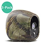 Silicone Skins Compatible for Arlo Security Cameras, Taken Protective Cover Case for Arlo HD Wireless Camera, for Netgear Accessories (3 Pack, Camouflage) For Sale