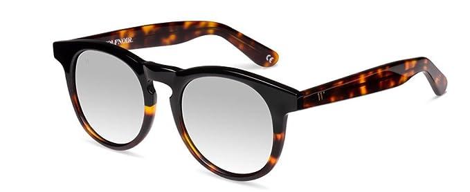 Wolfnoir Hathi Ace Bicome Black Gafas de sol, Negro/Gris plata, 45 Unisex