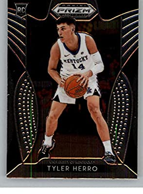 2019-20 Prizm Draft Picks Basketball #79 Tyler Herro Kentucky Wildcats Official NCAA Trading Card From Panini America