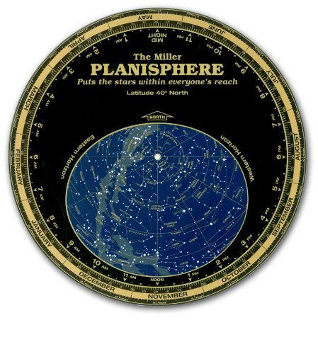 Miller Planisphere Star Finder, Size Large Model 30 degree