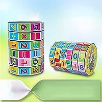CYNDIE Juguetes educativos para niños Números matemáticos Magic Cube Puzzle Game Gift para niños