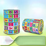 DSstyle Children's Educational Toys Mathematics Numbers Magic Cube Puzzle Game Gift for Kids