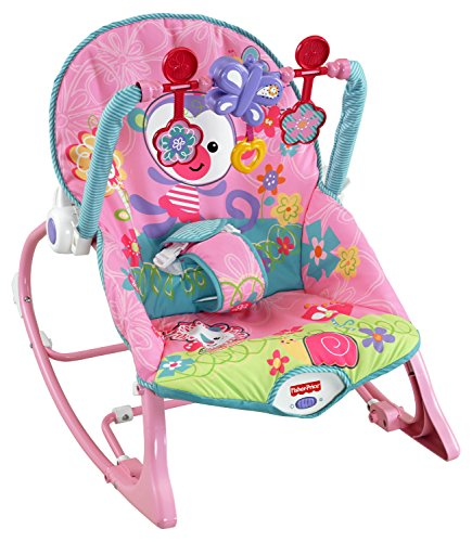 Fisher-price Rainforest Infant Toddler Rocker (pink) by BabyMarket
