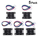 3D Printer Smoother, TL Smoother kit Addon Module for 3D Printer Stepper Motor Drivers Pattern Elimination Motor Clipping Filter (Pack of 5)
