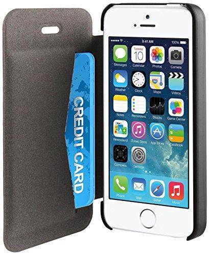 muvit iPhone 5S/5SE Easy folio Card case Black