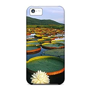 ZGeVWlu8945XgHtq Lovely Water Lilies Awesome High Quality Iphone 5c Case Skin