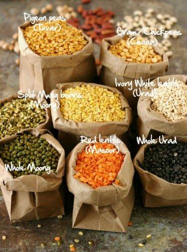 Dals Pack 4lb Each (Urad Dal , Split Moong Dal , Whole Moong Dal, Toor Dal, Chana Dal) (Split Channa compare prices)