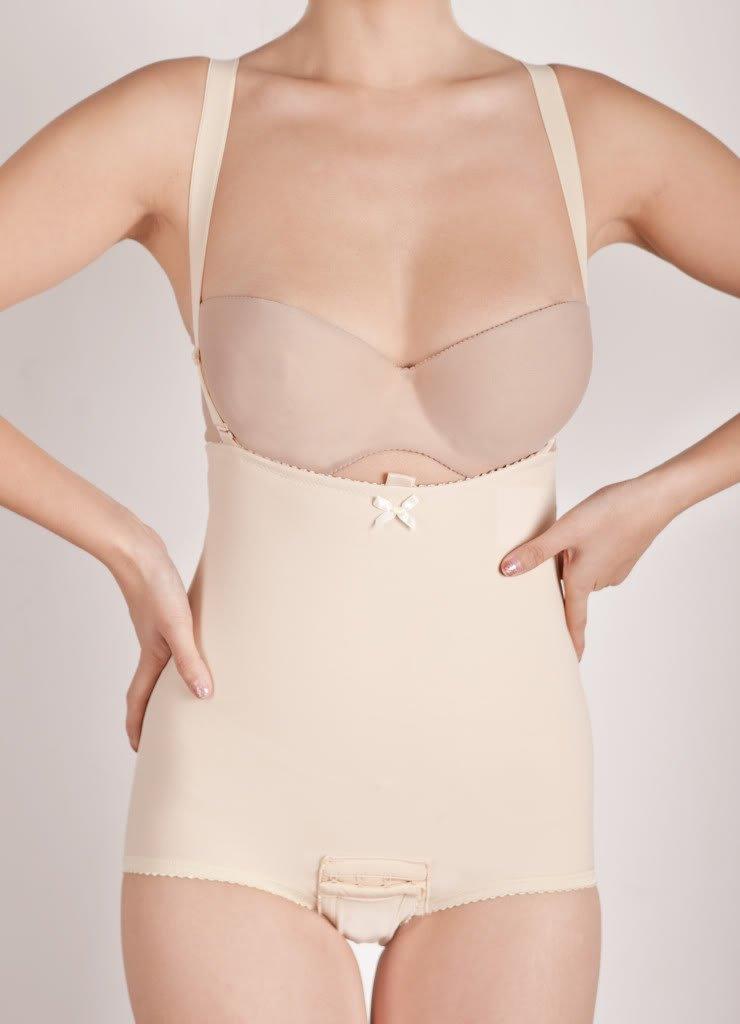 Wink Womens' Belly Blaster Strapped Abdominal Binder - Beige - Medium