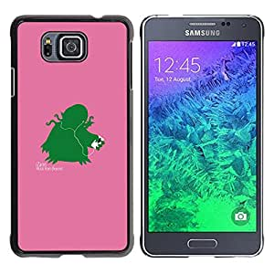 Stuss Case / Funda Carcasa protectora - Izann - Funny - Samsung ALPHA G850